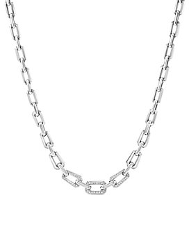 David Yurman - Novella Necklace with Pavé Diamonds, 16.5""