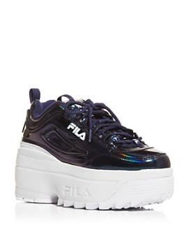 FILA - Women's Disruptor II Wedge Low-Top Sneakers