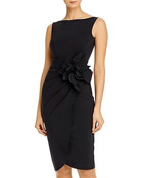 Chiara Boni La Petite Robe - Glenaly Flower-Appliqué Dress - 100% Exclusive