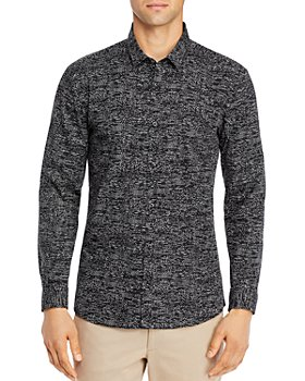 HUGO - ERO3 Cotton Printed Shirt
