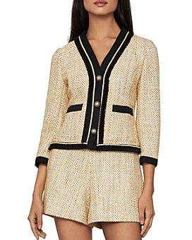 BCBGMAXAZRIA - Tweed Button Blazer