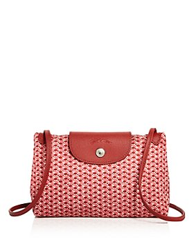 Longchamp - Le Pliage Mini Microknit Crossbody Bag