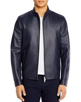 Theory - Morvek Leather Jacket