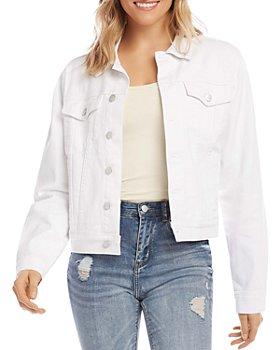 Karen Kane - Denim Jacket in Off White