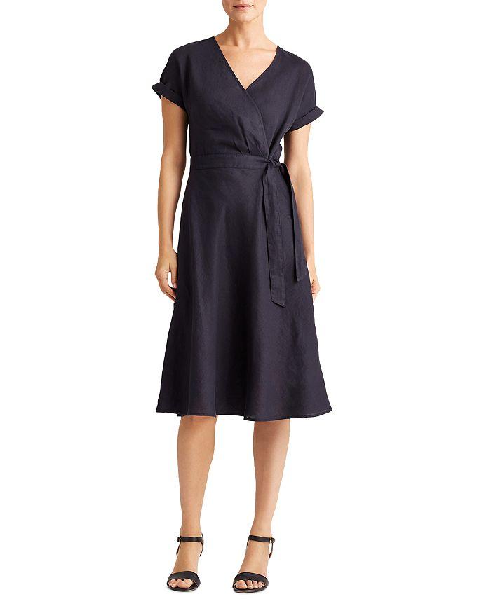 Ralph Lauren - Rolled-Sleeve Midi Dress