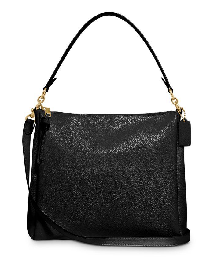COACH Shay Medium Pebble Leather Shoulder Bag  | Bloomingdale's