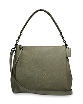 COACH - Shay Medium Leather Shoulder Bag