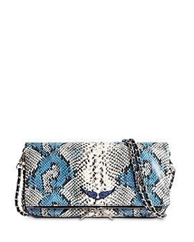 Zadig & Voltaire - Rock Painted Wild Small Leather Shoulder Bag