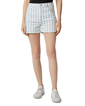 J Brand - Jules Striped Denim Shorts