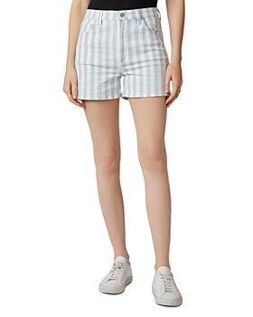 J Brand - Jules Striped Denim Shorts