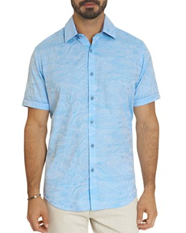 Robert Graham - Sanctuary Tonal Animal Jacquard Classic Fit Button-Down Shirt