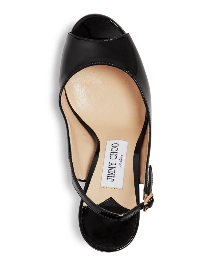 Jimmy Choo Women's Nova 100 Slingback Peep-Toe Platform Pumps   | Bloomingdale's
