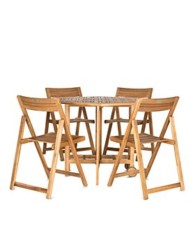 SAFAVIEH - Kerman Table 5-Piece Indoor/Outdoor Dining Set