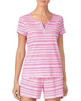 Ralph Lauren - Cotton Striped Shorts Pajamas Set