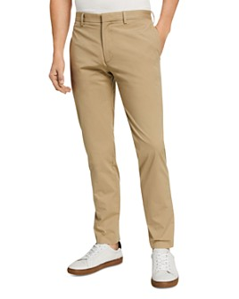 Theory - Zaine Slub Poplin Slim Fit Chinos