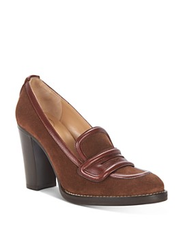 Chloé - Women's Emma High-Heel Loafer Pumps