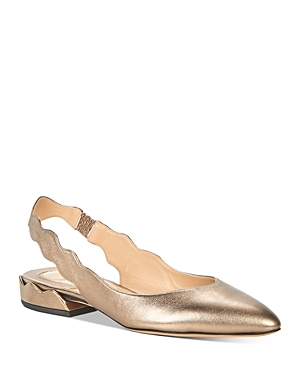 Chloe Women\\\'s Laurena Slingback Ballet Flats