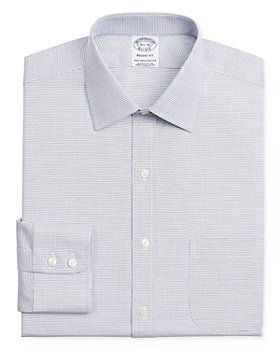 Brooks Brothers - Micro-Check Regular Fit Dress Shirt