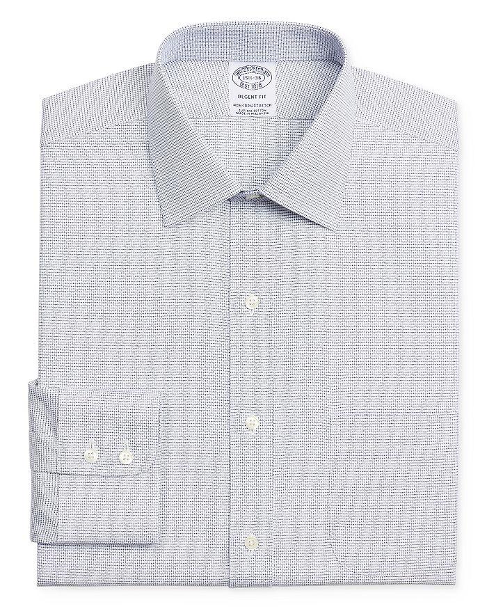 Brooks Brothers - Micro-Check Regular Fit Dress Shirt
