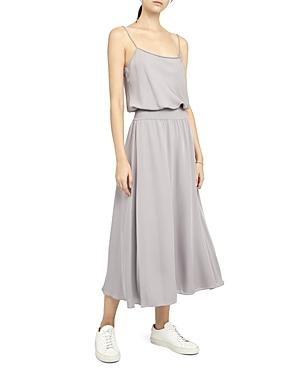 Theory Ribbed Silk Dress