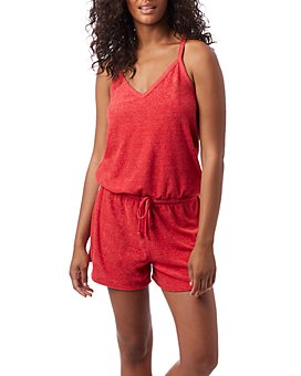 ALTERNATIVE - Poolside Racerback Romper