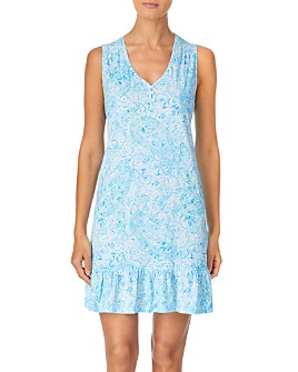 Ralph Lauren - Cotton Flounce Nightgown