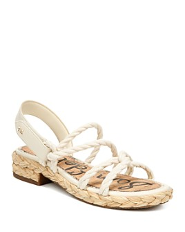 Sam Edelman - Women's Cristan Rope Strap Sandals