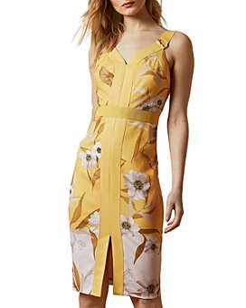 Ted Baker - Peppinn Floral-Print Bodycon Dress