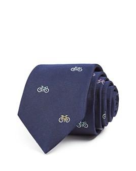 Paul Smith - Bicycle Silk Skinny Tie