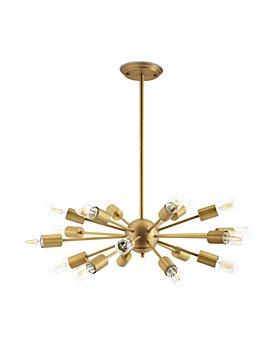 Modway - Resolve Brass Pendant Chandelier