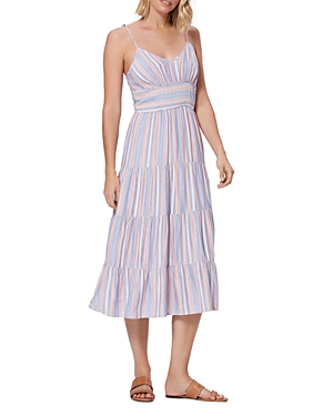 Paige Favella Tiered Midi Dress