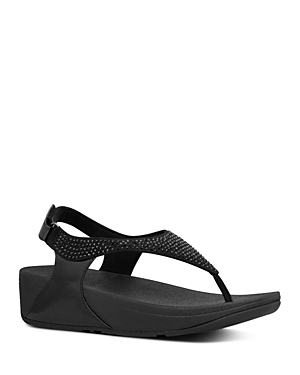 FitFlop Women\\\'s Skylar Crystal Thong Sandals