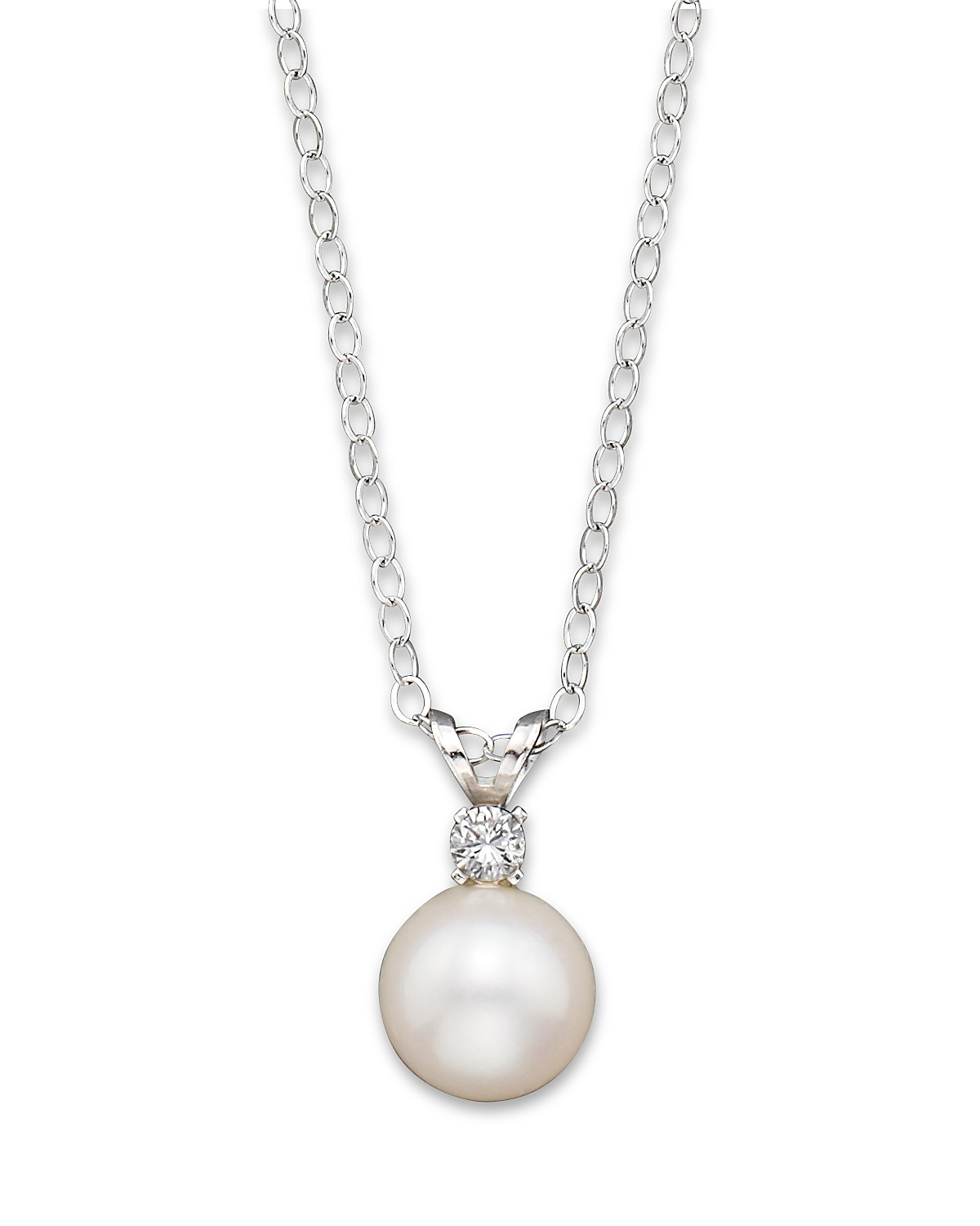gold products acepicked necklace pearl by classic akoya simple pendant diamond