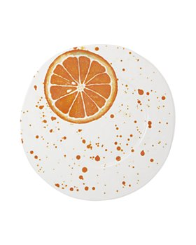 VIETRI - Melamine Fruit Orange Dinner Plate