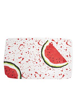 VIETRI - Melamine Fruit Watermelon Rectangular Platter