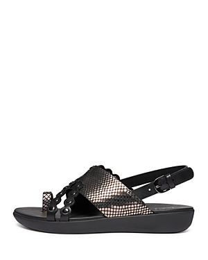 FitFlop Women\\\'s Scallop Exotic Slingback Sandals