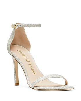 Stuart Weitzman - Women's Amelina Square Toe High Heel Sandals