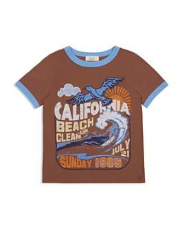 Peek Kids - Boys' Isaac Beach Clean Ringer Tee - Toddler, Little Kid, Big Kid