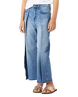 Habitual Kids - Girls' Fallyn Wrap Wide Leg Denim Pants - Big Kid
