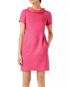 HOBBS LONDON - Linen Petra Dress