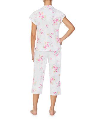 Nautica Sleepwear Womens Regatta Dot Capri