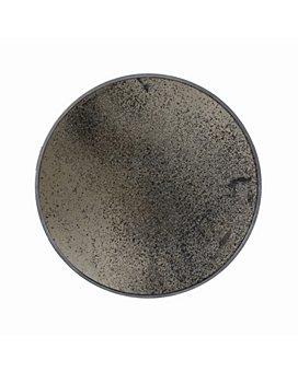 Notre Monde - Bronze Round Mirror