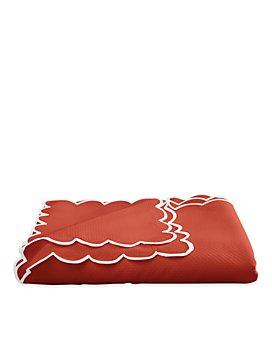 "Matouk - Savannah Gardens Tablecloth, 90"" Round"
