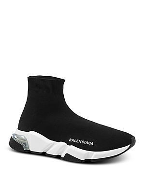 Balenciaga Men's Speed Clear Sole Sock Sneakers