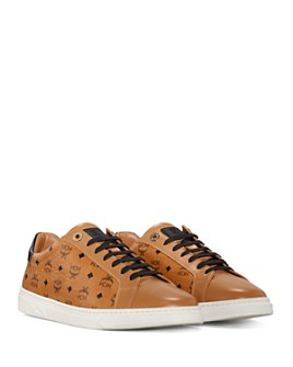 MCM - Women's New Court Lace Up Sneakers