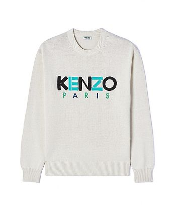 Kenzo - Men's Textured Logo Sweater