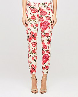 L'AGENCE - Margot High Rise Skinny Jeans in Seraphina