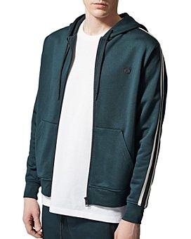 The Kooples - Fleece Zip Hooded Sweatshirt