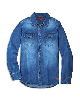 7 For All Mankind - Boys' Denim Shirt - Big Kid