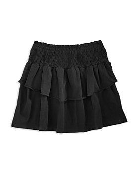 Limeapple - Girls' Smocked Ruffled Skirt - Big Kid
